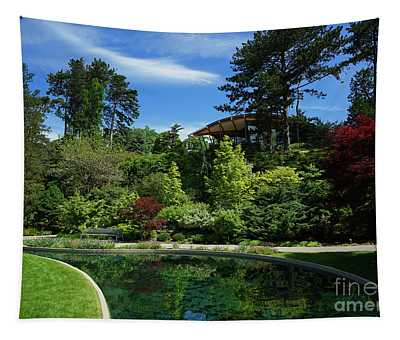 Rock Garden Spring Tapestry