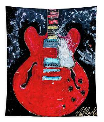 Rockabilly Red Tapestry
