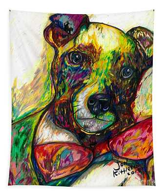 Rocket The Dog Tapestry
