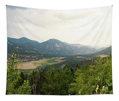 Rocky Mountain Overlook Tapestry