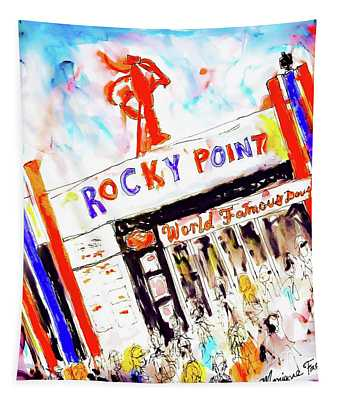 Rocky Point Chowder House Tapestry