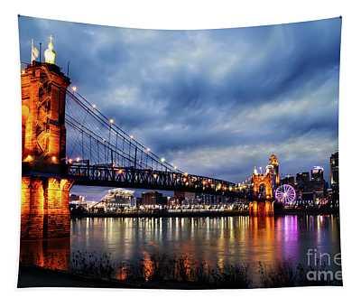 Roebling Suspension Bridge Tapestry