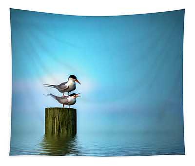 Romance On The High Seas Tapestry
