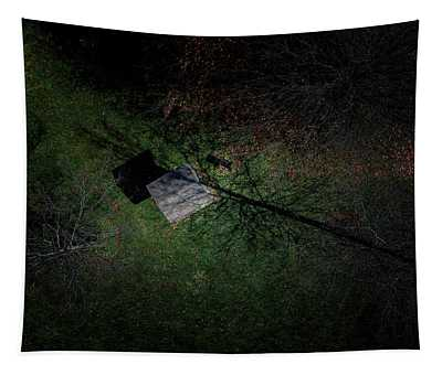 Roof In The Trees Tapestry