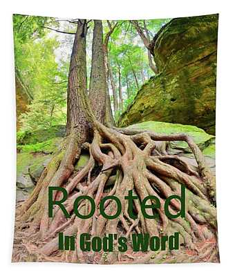 Rooted In God's Word Tapestry