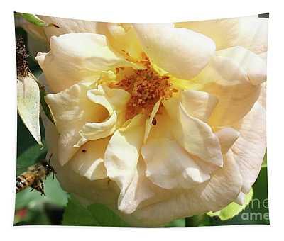 Rose In Brooklyn Tapestry