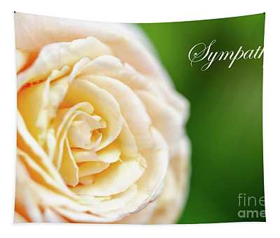 Rose Sympathy Tapestry