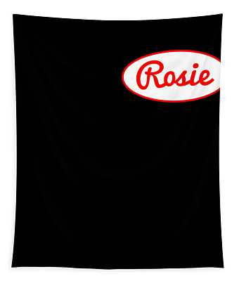 Rosie The Riveter Costume Front Tapestry