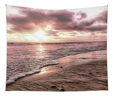 Rosy Sunset Tapestry