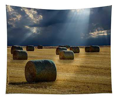 Round Bales Tapestry