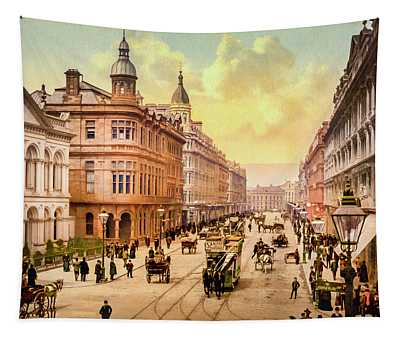 Royal Avenue In Belfast Tapestry