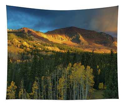 Ruby Range Sunrise Tapestry