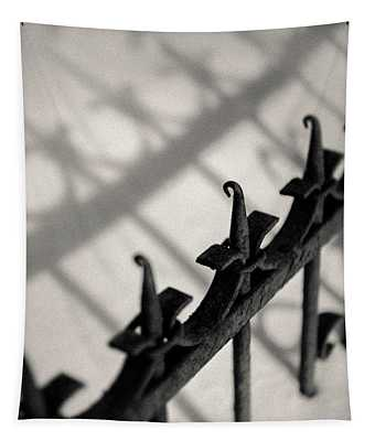 Rusty Railings Tapestry