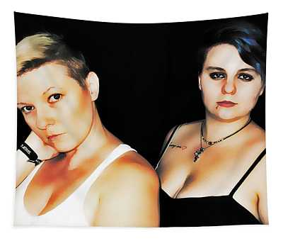 Ryli And Alex 2 Tapestry
