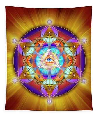 Sacred Geometry 755 Tapestry