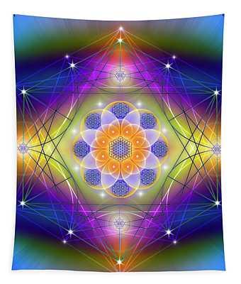 Sacred Geometry 756 Tapestry
