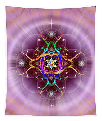 Sacred Geometry 757 Tapestry
