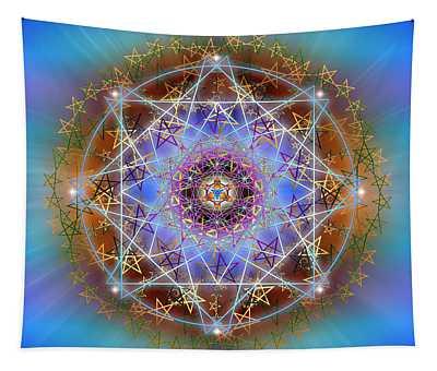 Sacred Geometry 758 Tapestry