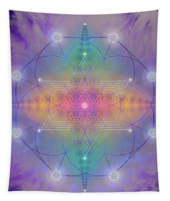Sacred Geometry 759 Tapestry