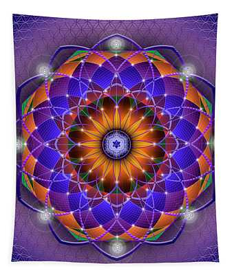 Sacred Geometry 760 Tapestry