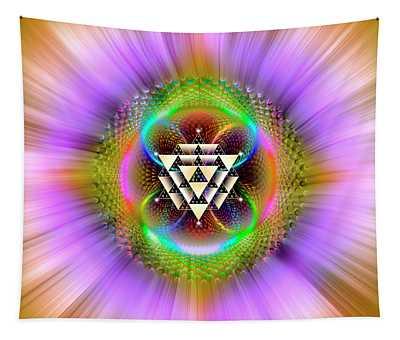 Sacred Geometry 762 Tapestry