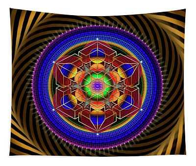 Sacred Geometry 763 Tapestry
