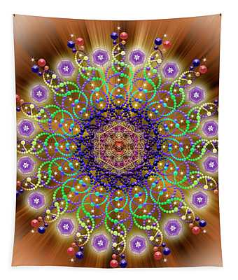 Sacred Geometry 765 Tapestry