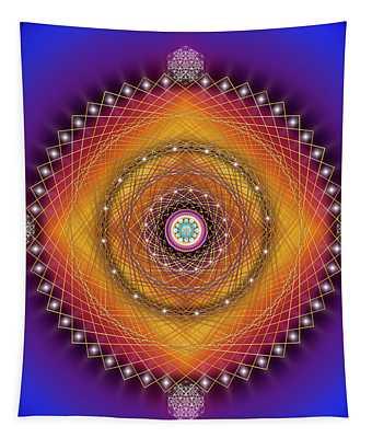 Sacred Geometry 766 Tapestry