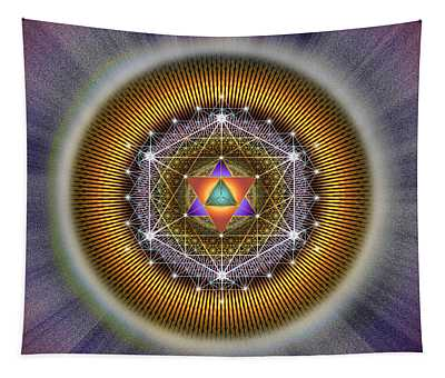 Sacred Geometry 767 Tapestry