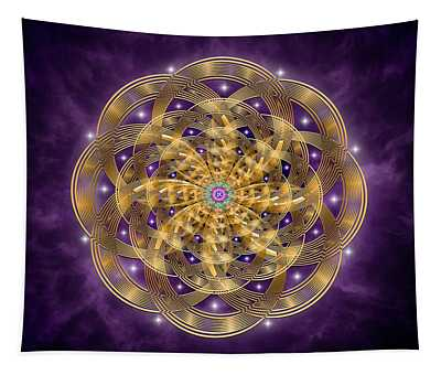 Sacred Geometry 768 Tapestry