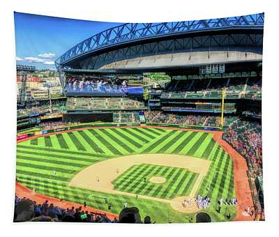 Safeco Field Seattle Mariners Tapestry