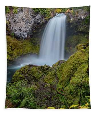 Sahalie Falls, Autumn Tapestry