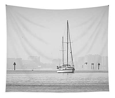 Sail Out Of Sarasota Tapestry