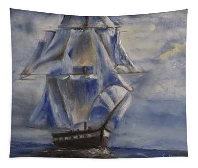 Sail The Seas Tapestry