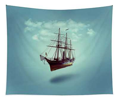 Sailed Away Tapestry