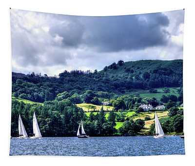 Sailing In Heaven Tapestry