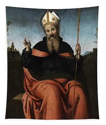 Saint Augustine Of Hippo Tapestry