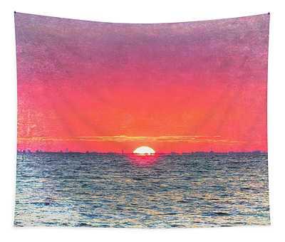 Salty Sunrise Tapestry