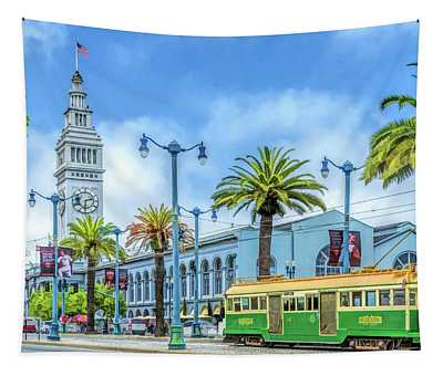 San Francisco Ferry Building Tapestry