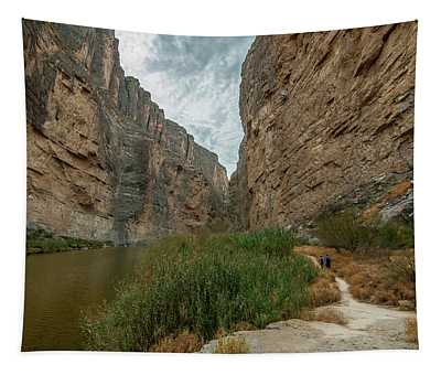 Santa Elena Canyon Hikers Tapestry