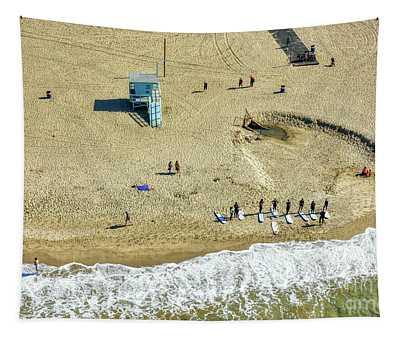 Santa Monica Beach 2 Tapestry
