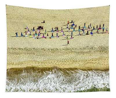 Santa Monica Beach 3 Tapestry