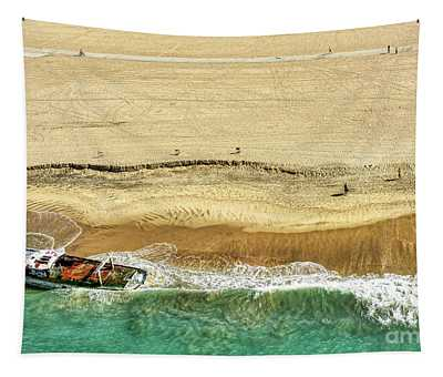 Santa Monica Beach 5 Tapestry