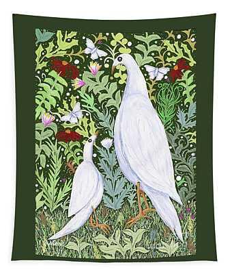 Sapientes Pacis Birds Tapestry