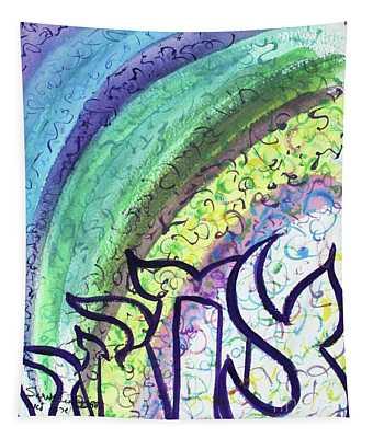 Sarah Laughed Tapestry