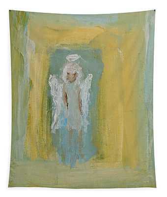 Sassy Frassy Angel Tapestry