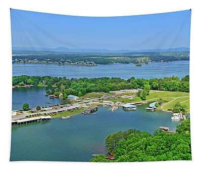 Saunders Marina, Smith Mountain Lake, Va. Tapestry