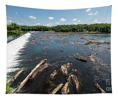 Savannah River Rapids - Augusta Ga Tapestry