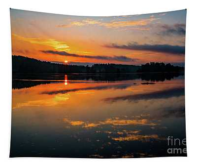 Savannah River Sunrise - Augusta Ga 2 Tapestry