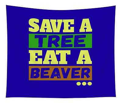 Save A Tree Tapestry
